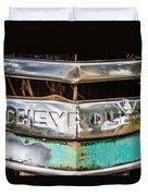 Chrome Chevrolet Duvet Cover