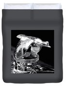 Chrome In Flight Duvet Cover