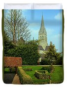Church Garden Duvet Cover