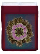 Chrysanthemum Mandala Duvet Cover