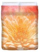Chrysanthemum Obscured Duvet Cover