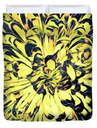 Chrysanthemum Pop Duvet Cover