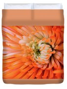 Chrysanthemum Serenity Duvet Cover