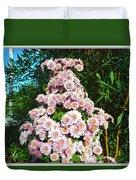 Chrysanths Duvet Cover