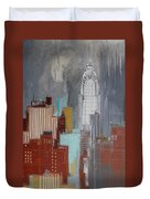 Chrysler Building, New York Duvet Cover