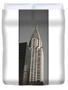 Chrysler Building New York Duvet Cover