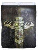 Chrysler Hood Ornament Duvet Cover