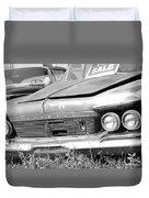 Roadside Imperials -  Bw Duvet Cover