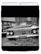 Chrysler Imperials - Bw Duvet Cover