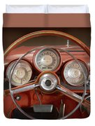 Chrysler Turbine Cockpit View Duvet Cover