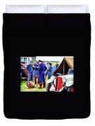 Chucks Away Ww2 Duxford Duvet Cover