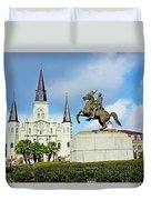 Church And State Duvet Cover