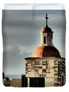 Church Bell Tower, Old Havana Duvet Cover