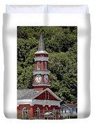 Church Building Duvet Cover