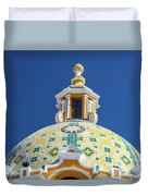 Church Dome And Blue Sky Duvet Cover