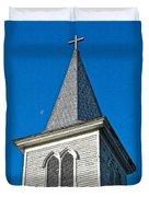 Church Drawing Duvet Cover