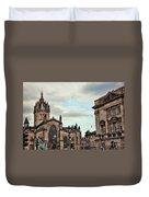 Church Edinburgh II Duvet Cover