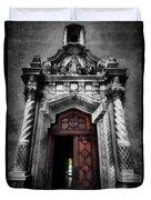 Church Entrance Duvet Cover