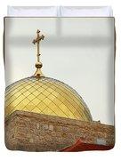 Church Golden Dome Duvet Cover