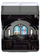 Church - Grand Caymans Duvet Cover
