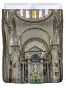 Church In Guanajuato Duvet Cover