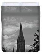 Church In Ireland Duvet Cover
