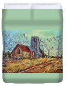 Church In Suffolk  Duvet Cover