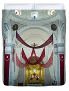 Church Interior 2 Guatemala  Duvet Cover
