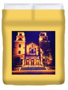 Church Night Duvet Cover
