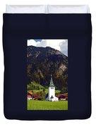 Church Of Bad Oberdorf  Duvet Cover