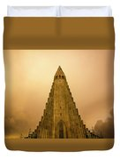 Church Of Fire Duvet Cover