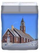 church of Ilulissat - Greenland Duvet Cover