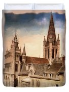 Church Of Notre-dame Of Dijon France - Remastered Duvet Cover