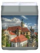 Church Of Our Lady Victorious Duvet Cover