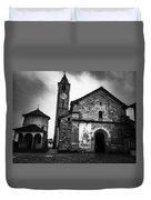 Church Of Santi Gervasio And Protasio Duvet Cover