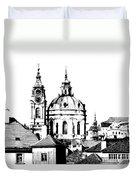Church Of St Nikolas Duvet Cover