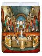 Church Of St. Paul The Apostle Duvet Cover
