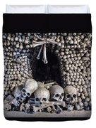 Church Of The Bones Duvet Cover