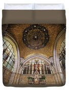 Church Of The Flagellation Duvet Cover