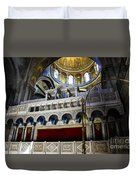 Church Of The Holy Sepulchre Interior Duvet Cover