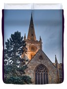 Church Of The Holy Trinity Stratford Upon Avon 4 Duvet Cover