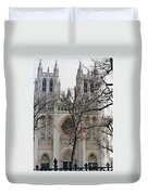 Church Of The Nation Duvet Cover