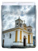 Church Of The Transfiguration Quetzaltenango Guatemala 5 Duvet Cover