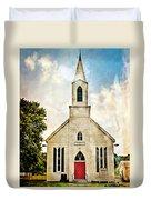 Church On 8 Duvet Cover