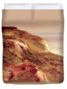 Church On A Clifftop Duvet Cover