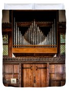 Church Organ Duvet Cover