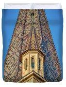 Church Spire Details - Romania Duvet Cover