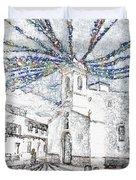 Church Square Duvet Cover