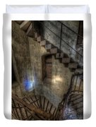 Church Stairs Above Duvet Cover