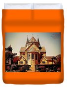 Church To Worship The Living God Catus 1 No. 1 H A Duvet Cover